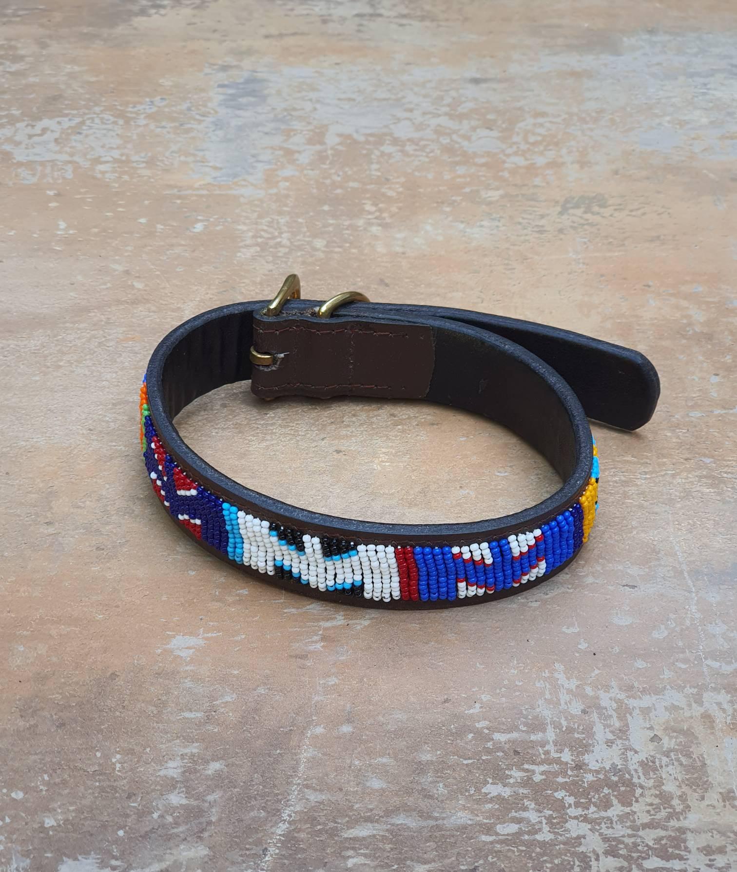 Maasai Beaded Pet Collars